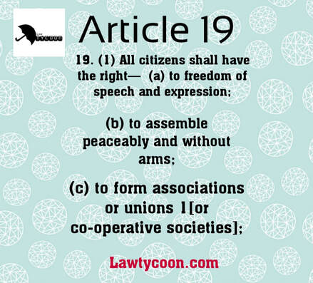 Article 19, Article 19 1 a,